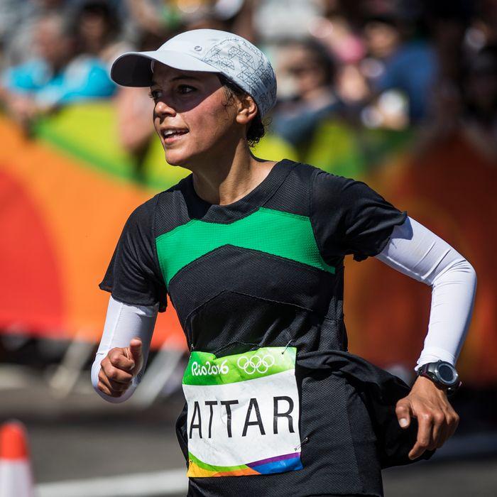 Sarah Attar.