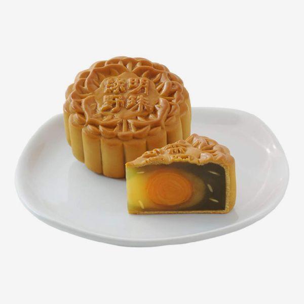 Baker's Cottage Pandan Lotus Mooncake