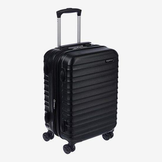 Amazon Basics Hardside Carry-On Spinner Suitcase