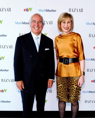 Guest speakers Frank Abagnale and Valerie Salembier.