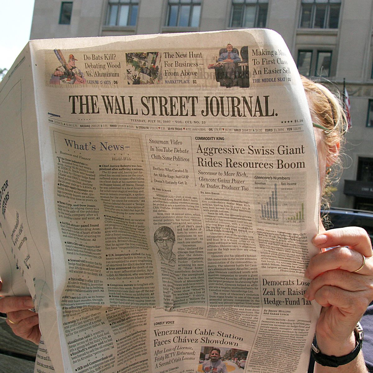 The Wall Street Journal Editorial Page S Persecution Complex