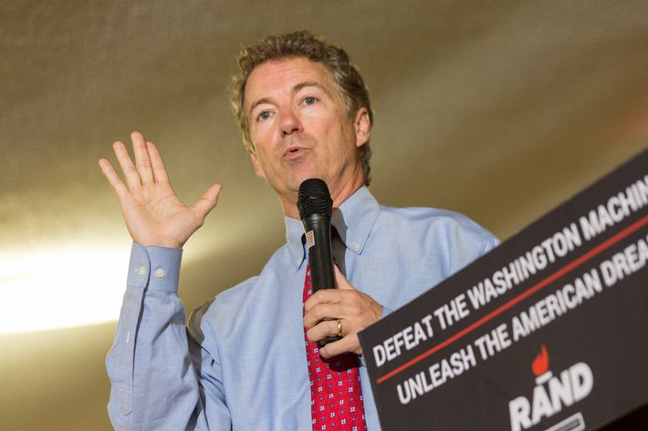 Rand Paul Campaigns AT VFW Post In South Carolina