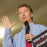 Rand Paul Campaigns AT VFW Post In South Carolina