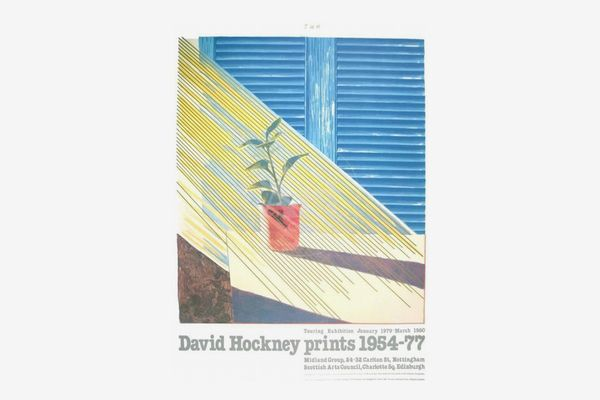 David Hockney Sun From the Weather Series Poster