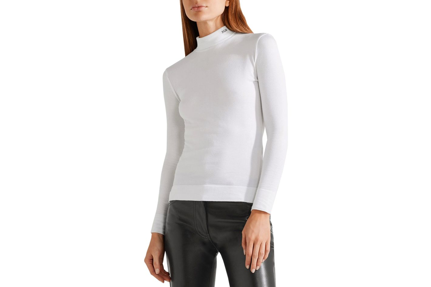 Calvin Klein 205W39NYC Embroidered Turtleneck