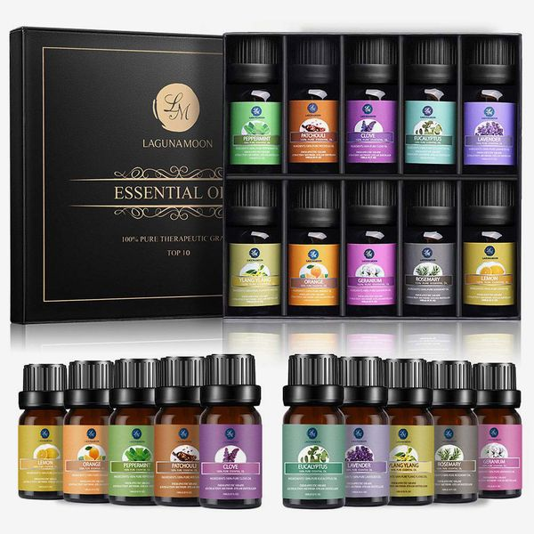 Lagunamoon Essential Oils Top 10 Gift Set