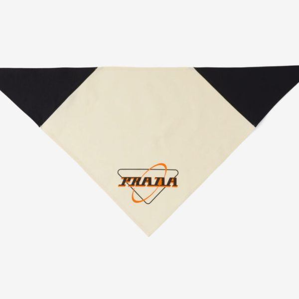 Prada Oxford Cotton Scarf