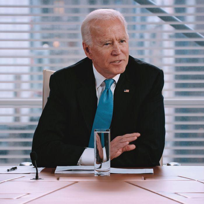 Joe Biden in the endorsement episode of The Weekly.