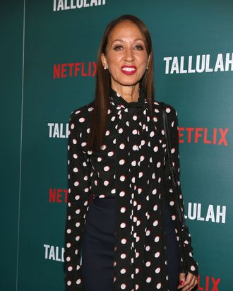 Pat Cleveland at the <i> Tallulah</i> premiere.