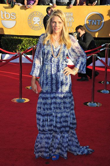 LOS ANGELES, CA - JANUARY 29:  Actress Busy Philipps  arrives at the 18th Annual Screen Actors Guild Awards at The Shrine Auditorium on January 29, 2012 in Los Angeles, California.  (Photo by Alberto E. Rodriguez/Getty Images)