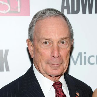 NEW YORK, NY - DECEMBER 02: Mayor Michael Bloomberg attends the 2013 Adweek Hot List gala at Capitale on December 2, 2013 in New York City. (Photo by Ben Gabbe/Getty Images)