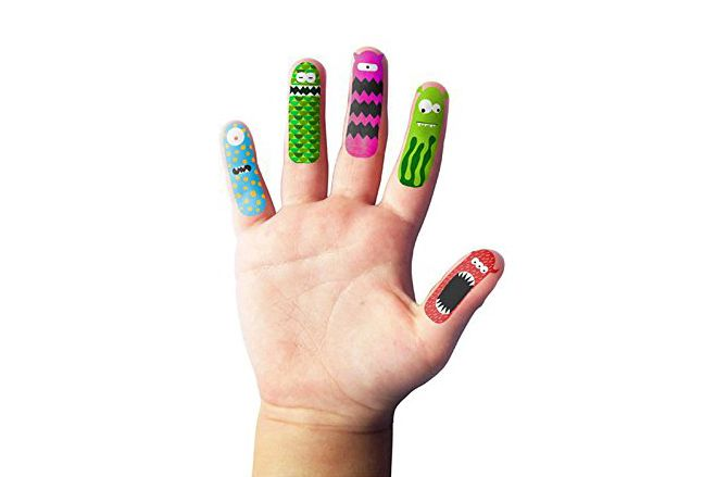 NPW-USA Finger Monsters Temporary Tattoos (20 Count)