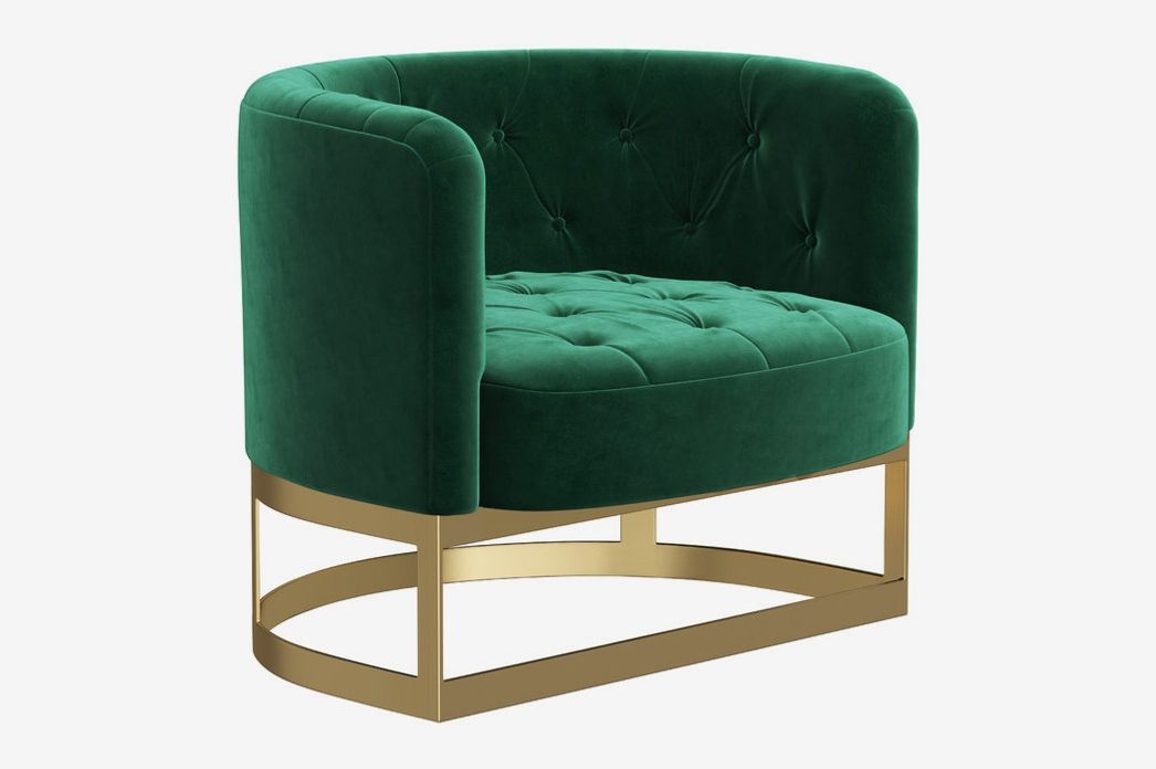 Pacey Tufted Velvet Accent Chair