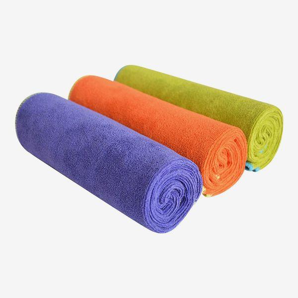 Sinland Microfiber Gym Towels 3-Pack