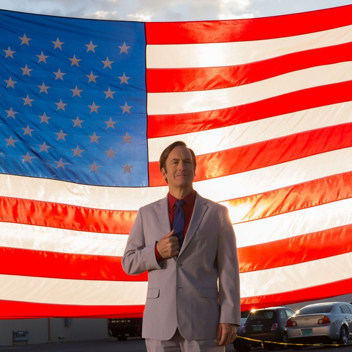 Bob Odenkirk as Jimmy McGill - Better Call Saul _ Season 2, Episode 10 - Photo Credit: Ursula Coyote/AMC