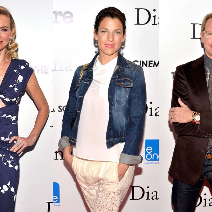 Naomi Watts, Jessica Seinfeld, and Carson Kressley.