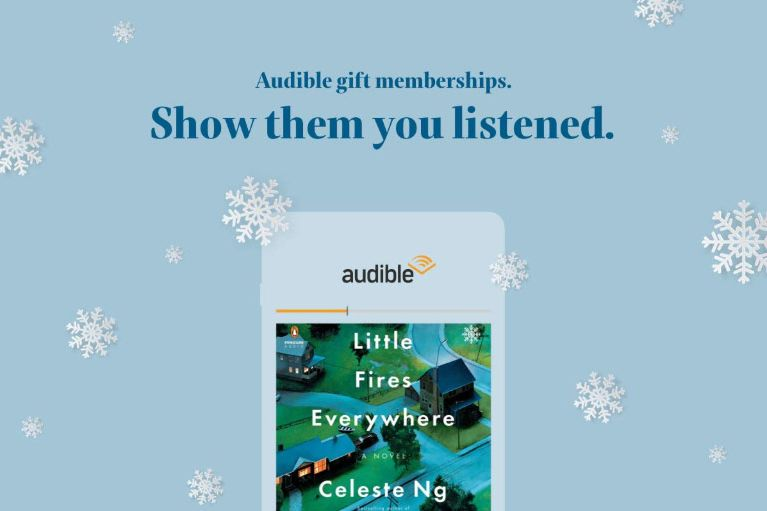 Three-Month Audible Subscription