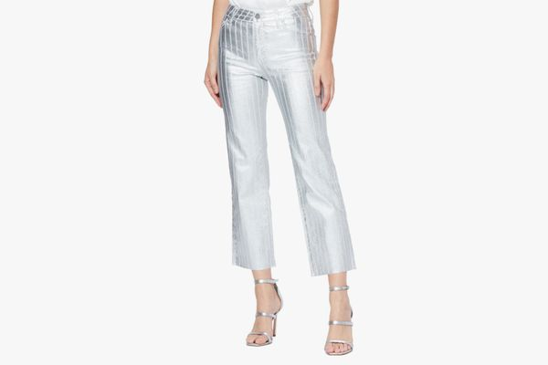 Paige Atley High-Waist Ankle-Flare Jeans