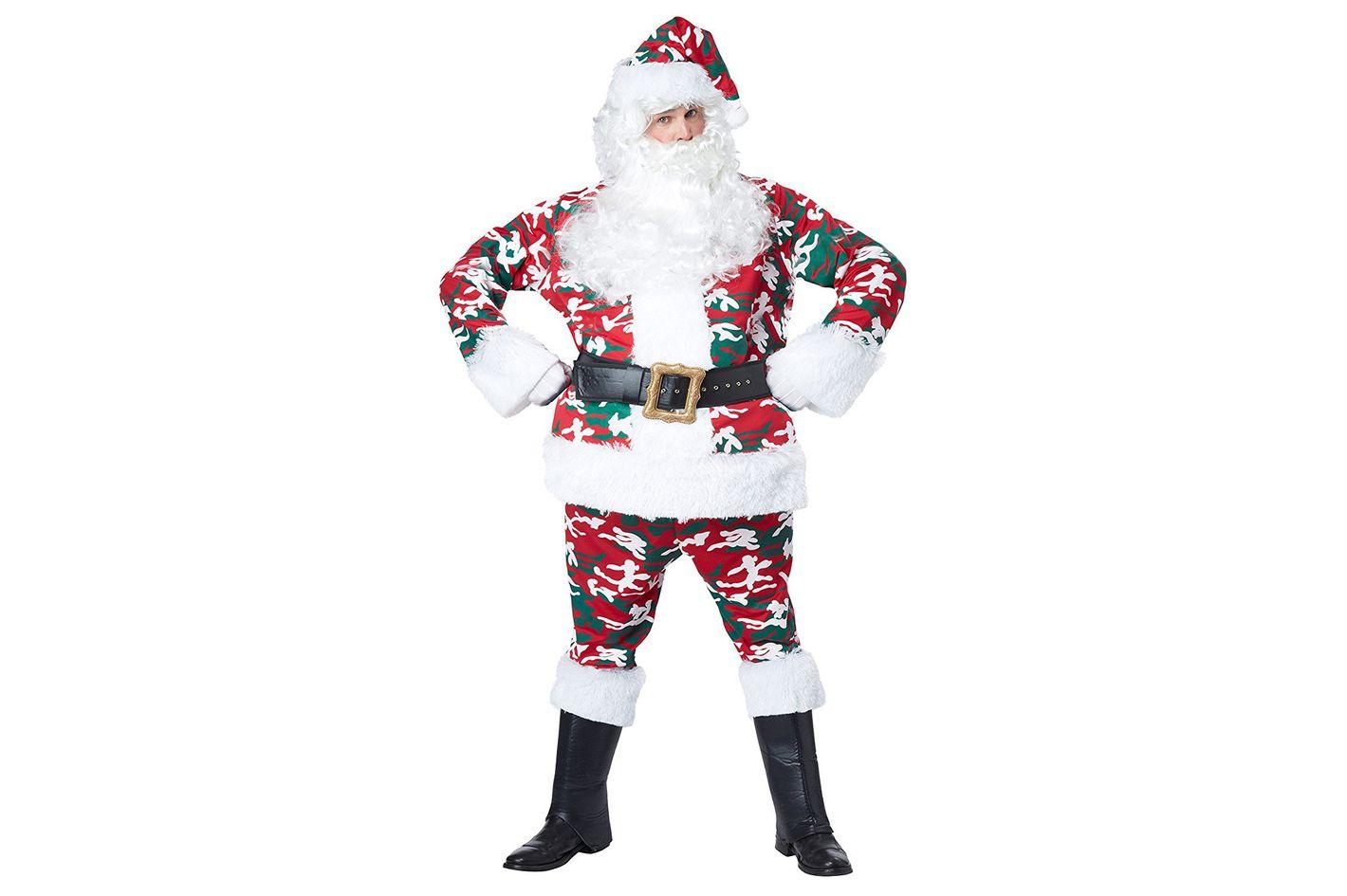 California Costumes Men's Camo Santa Suit Costume