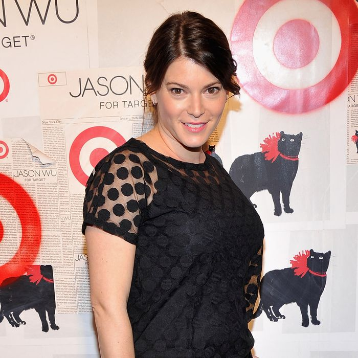Simmons, at Jason Wu's Target event last night.