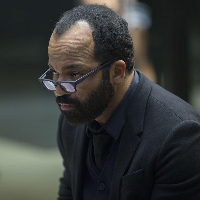 Jeffrey Wright as Bernard.