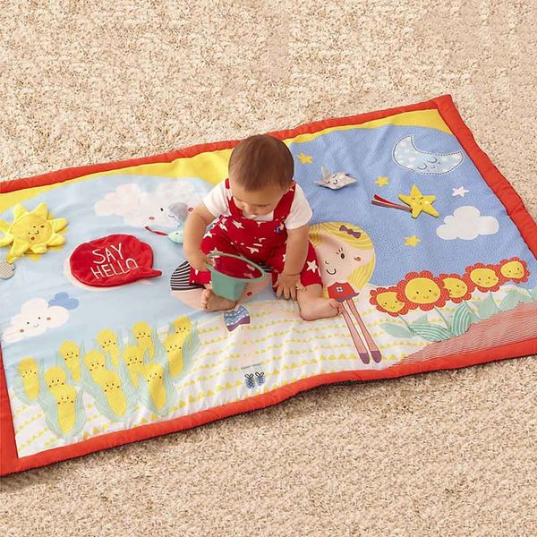 Say Hello Friends Double-Sided Activity Mat