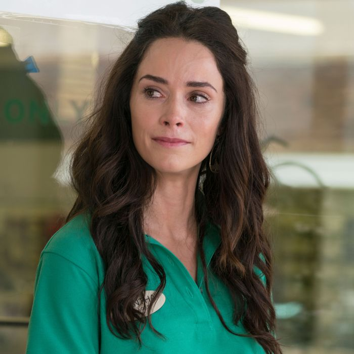 Abigail Spencer as Amantha Holden, Rebecca Henderson as Jenny Paar - Rectify _ Season 4, Episode 7 - Photo Credit: James Minchin/Sundance TV