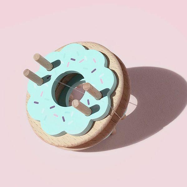 Medium Size Donut PomPom Maker - Blue Frost