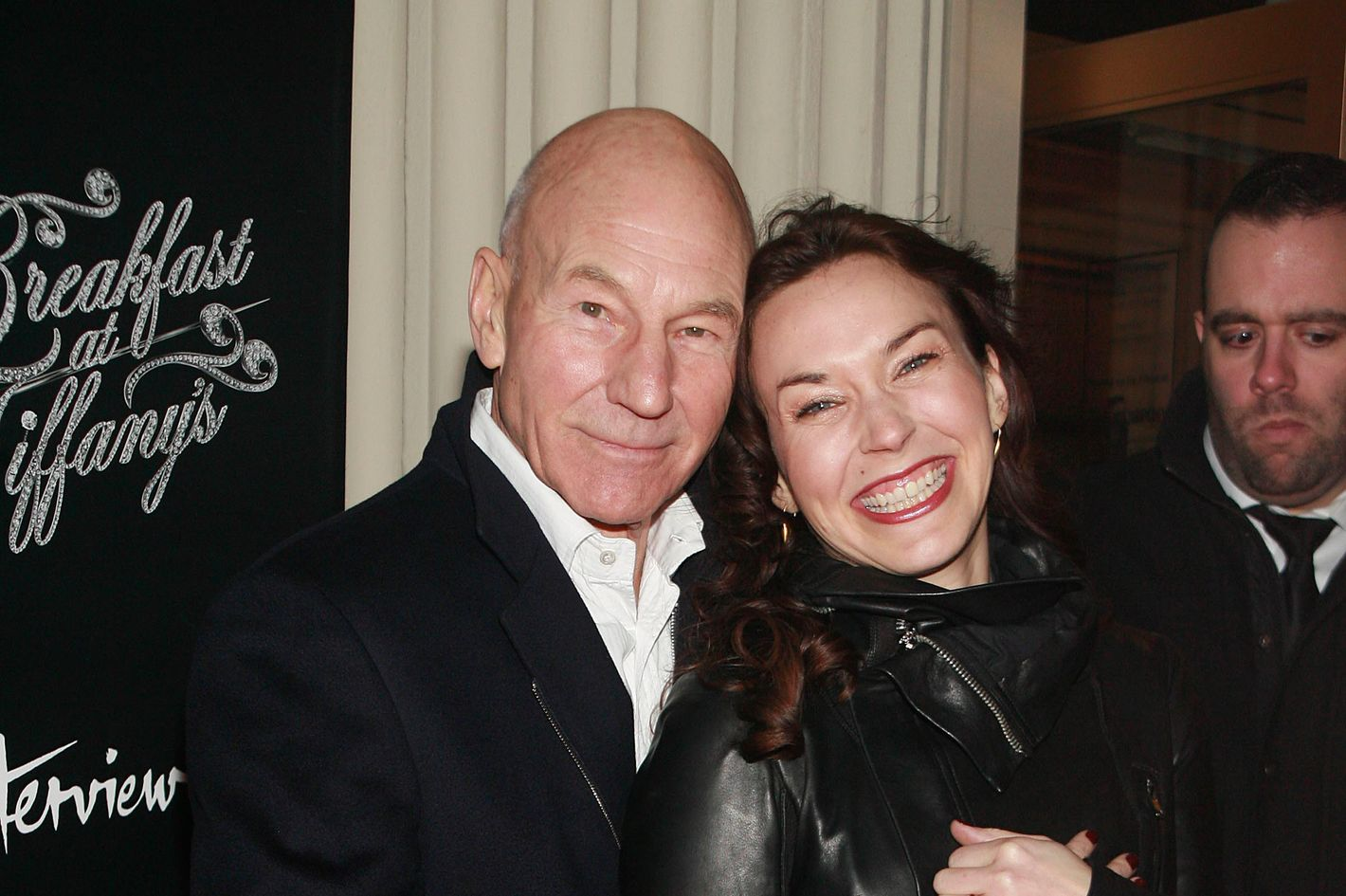 a657ad2303ac Patrick Stewart and His Fiancée on Meeting at Franny s and Convincing Ian  McKellen to Officiate Their Wedding