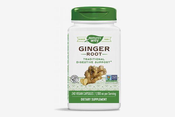 Nature's Way Premium Herbal Ginger Root 550 mg per capsule
