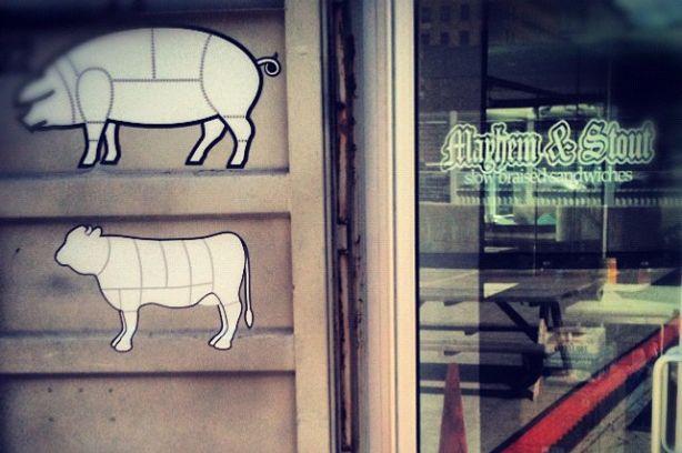 Vegetarian options, too.