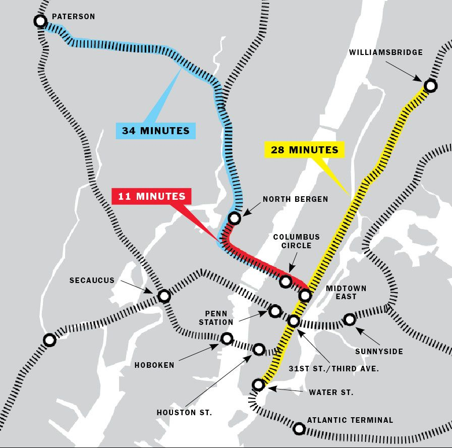 Nyc Judgemental Subway Map.Why Is Infrastructure So Expensive To Build In New York