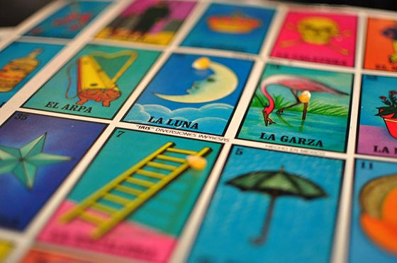 The game of Lotería  is foundational to the restaurant. Each dish on its menu is named after one of the deck's 54 cards. El Camaron, for example, may take  the form of a grilled shrimp dish.