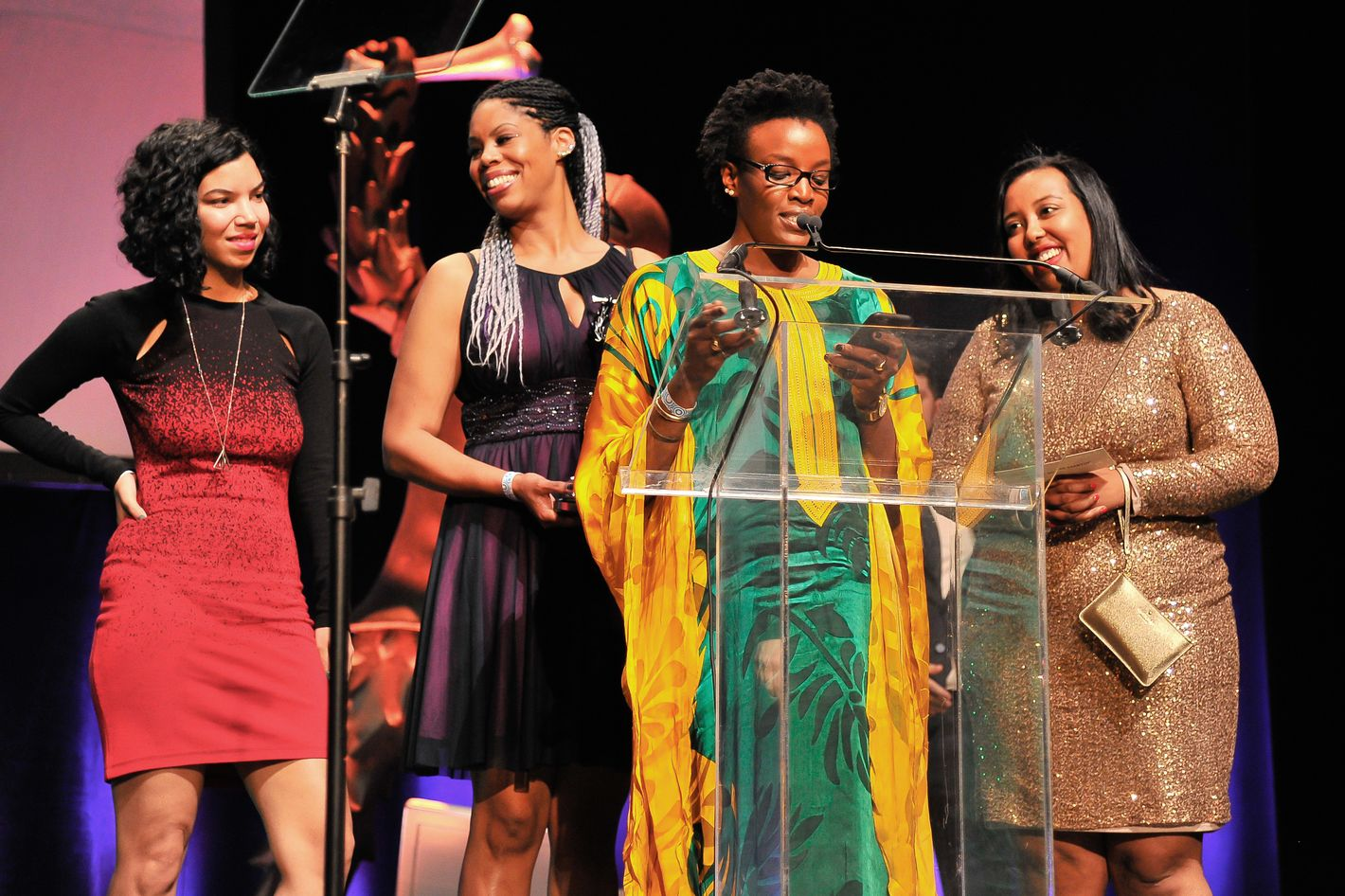 4 Female Engineers of Color Accepted a Major Start-up Award Last Night
