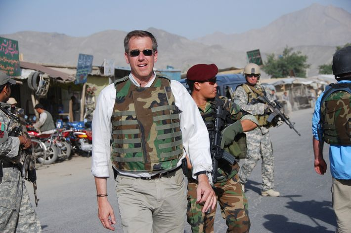 NBC Nightly News anchor Brian Williams visits with U.S. Special Forces in Afghanistan