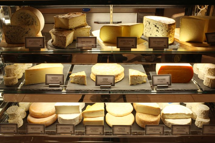 Épicerie Boulud's cheese spread.