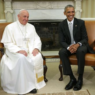 Pope Francis Meets President Obama At The White House