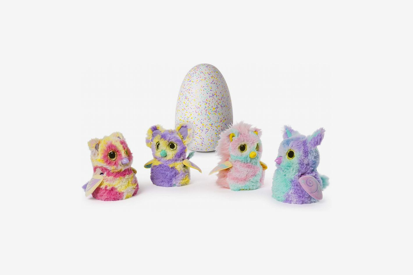 Hatchimals Mystery — Hatch 1 of 4 Fluffy Interactive Mystery Characters From Cloud Cove