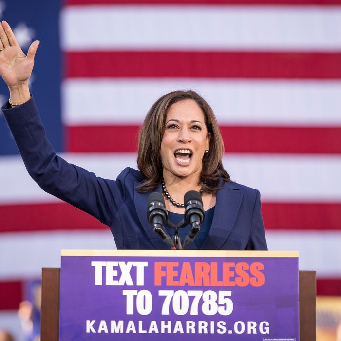 kamala harris fearless