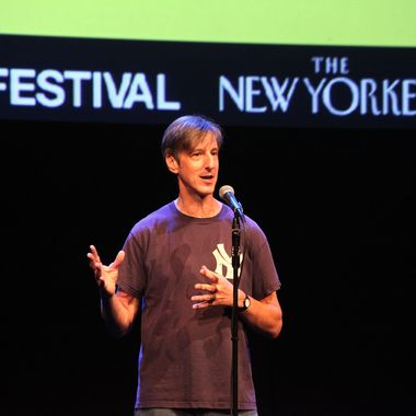 Andy Borowitz attends The 2011 New Yorker Festival: The Moth Event hosted by Andy Borowitz at Acura at SIR Stage37 on September 30, 2011