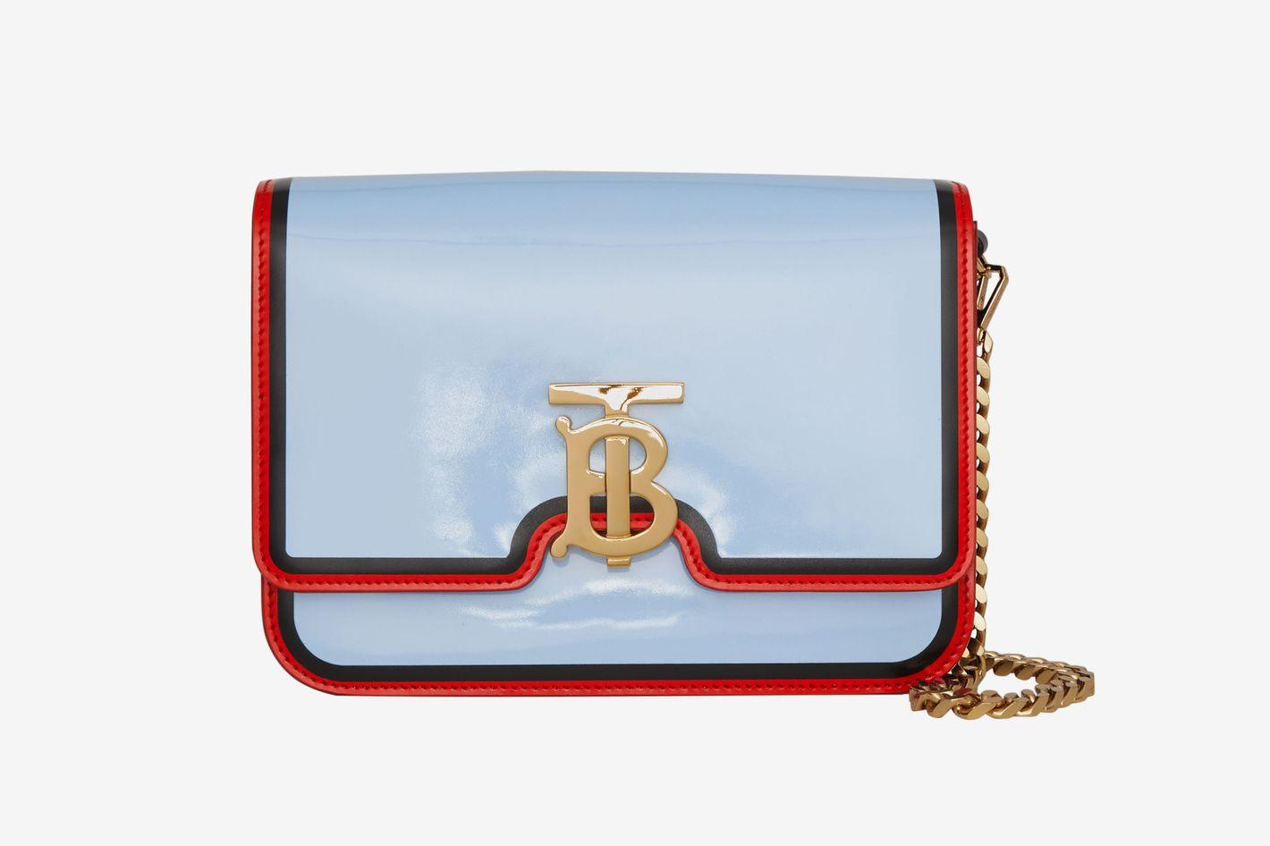 5748e0a769ef See Burberry s TB Bag Designed by Riccardo Tisci