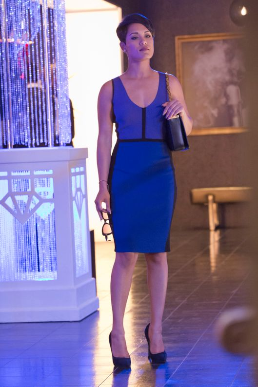 "EMPIRE: Grace Gealey as Anika in EMPIRE's ""Fires Of Heaven"" episode. Season 2 premieres Wednesday, September 23 (9:00-10:00 PM ET/PT) on FOX.  ©2015 Fox Broadcasting Co. Cr: Chuck Hodes/FOX."