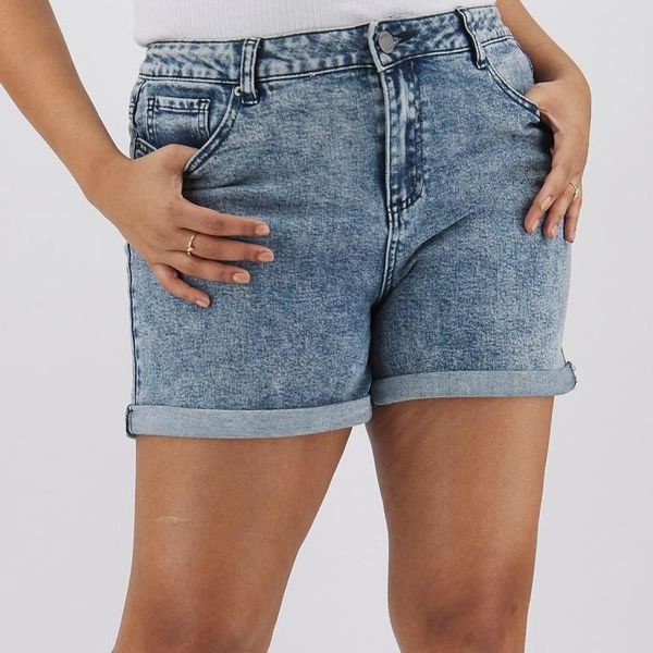 Simply Be High-Waist Mom Shorts