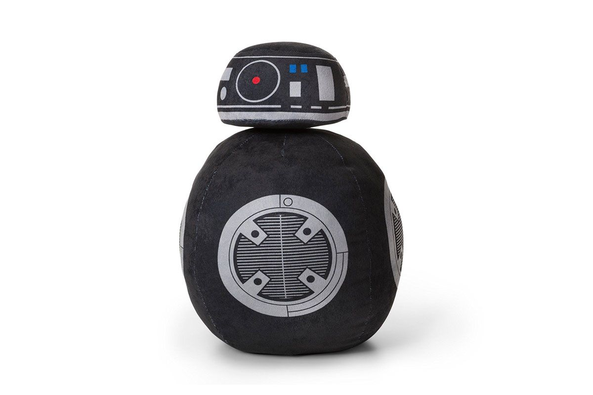 BB-9E Droid Black Throw Pillow