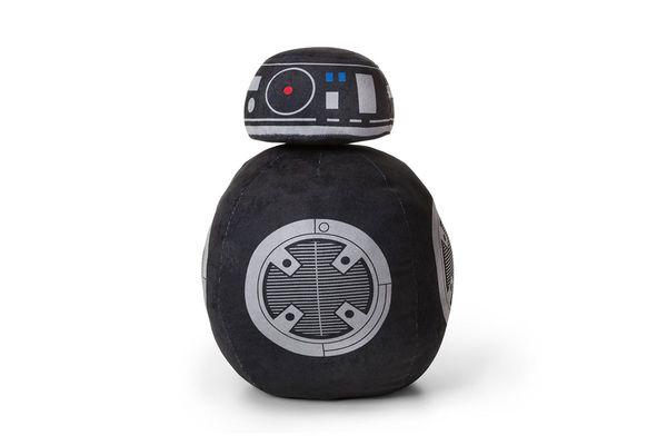 BB-9E Droid Black Throw Pillow
