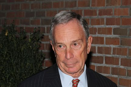 NEW YORK, NY - OCTOBER 21:  Mayor Michael Bloomberg attends Paul McCartney's & Nancy Shevell's party at The Bowery Hotel on October 21, 2011 in New York City.  (Photo by Rob Kim/Getty Images)