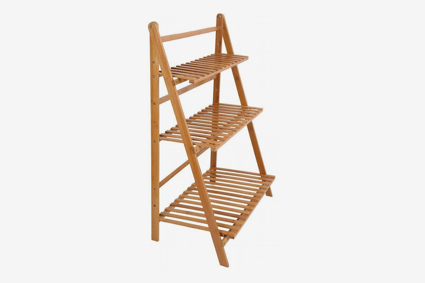 Ogori Bamboo Wood Plant Stand