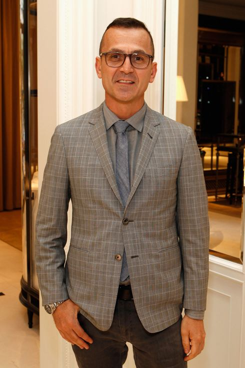 "Steven Kolb attends the Ralph Lauren celebration for the publication of ""The Hamptons: Food, Family and History"" by Ricky Lauren at the Ralph Lauren Women's Boutique on May 22, 2012 in New York City."
