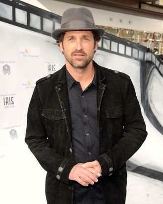 Actor Patrick Dempsey attends IRIS, A Journey Through the World of Cinema by Cirque du Soleil premiere Sunday, September 25, 2011 exclusively at Kodak Theatre in Hollywood, California.