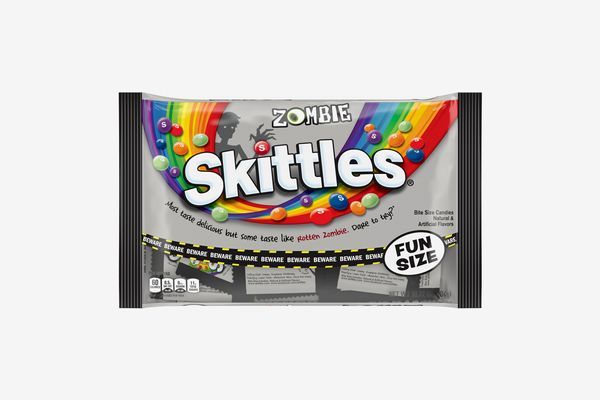 Halloween Zombie Skittles Fun Size Fruit Candy Packs
